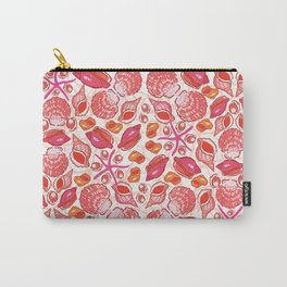She Sells Sea Shells with Coral Carry-All Pouch
