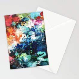 Colors Collide Stationery Cards