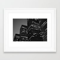 metropolis Framed Art Prints featuring Metropolis by Mark Giarrusso