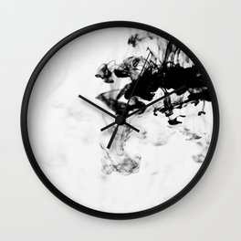 On the Gray Scale Wall Clock