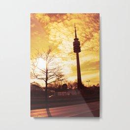 Fernsehturm München Metal Print