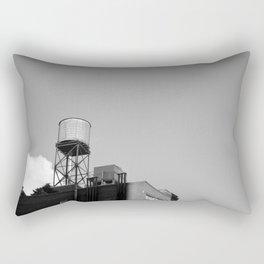 East Village Water Towers Rectangular Pillow