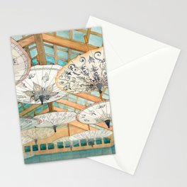 Heavenly Umbrellas Stationery Cards