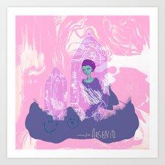 space ark Art Print