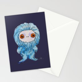 Moonkhin 3 (blue tranquil) Stationery Cards