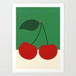 Cherries Art Print