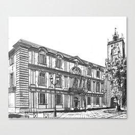Aix-en-Provence Town Hall Canvas Print