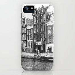 Love, Amsterdam iPhone Case