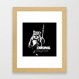 Wicket Original Junglist Framed Art Print
