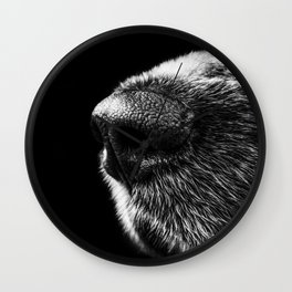 Cold Nose Wall Clock