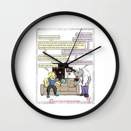 Natural Demographic #2 Wall Clock