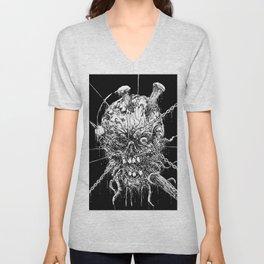 Hellraiser Horror Skull Unisex V-Neck