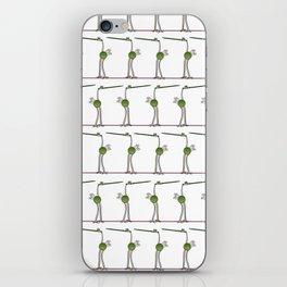 Needle Birds Parade iPhone Skin