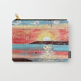 Reclaimed Sunset Carry-All Pouch