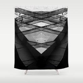 Duplex I Shower Curtain