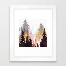Wine Forest Framed Art Print