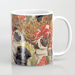Because Pugs Autumn Coffee Mug