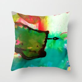 Abstract Bliss 4G by Kathy Morton Stanion Throw Pillow
