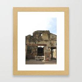 A Building. Framed Art Print