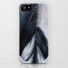 Black Mane iPhone Case