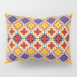 Wayuu pattern in pop art color Pillow Sham