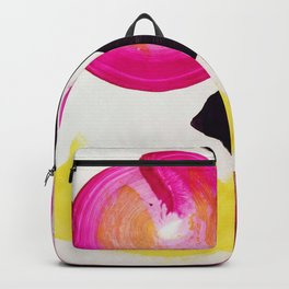 Neon Abstract Backpack