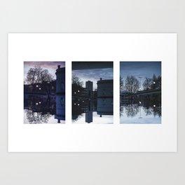 The Upside-Down Art Print