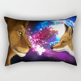 The Cunning & The Brave Rectangular Pillow
