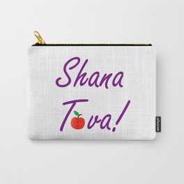 Shana Tova means 'sweet new year'- Rosh Hashanah or Jewish Near year greetings Carry-All Pouch