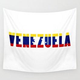 Venezuela Lettering Wall Tapestry