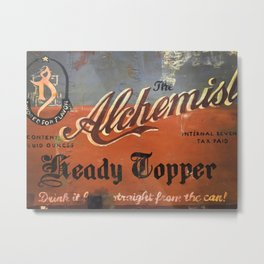 Vermont Brewers Series The Alchemist Metal Print