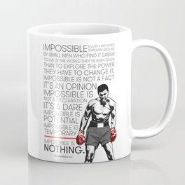 Ali 'The Champ' Boxing Coffee Mug
