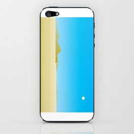 hot desert wind iPhone Skin