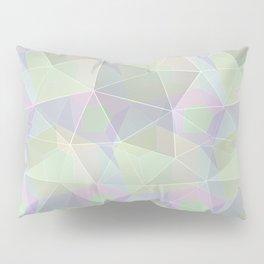 Polygonal pattern. Pillow Sham