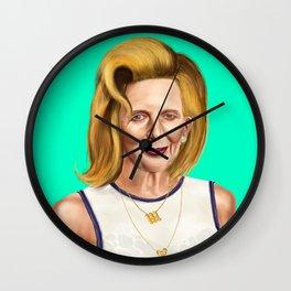Hipstory -  Margaret Wall Clock