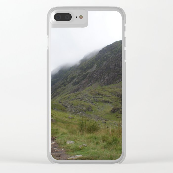 Wales Landscape 11 Cader Idris Clear iPhone Case