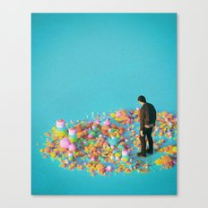 NEVER ENOUGH (everyday 03.16.17) Canvas Print