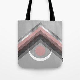 Mod Deco Gray Tote Bag