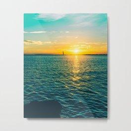 St Pete Sunrise Metal Print