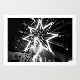 Estrella Difuminada Art Print