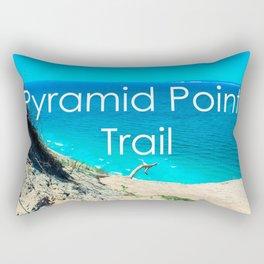 Pyramid Point - Sleeping Bear Dunes National Park-Lake Michigan - Michigan Rectangular Pillow
