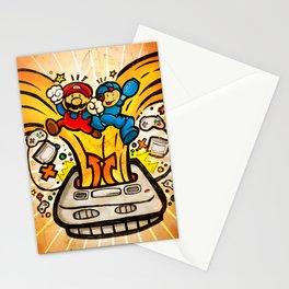 Snes Nostalgia Stationery Cards