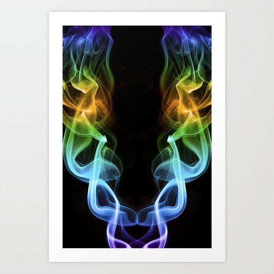 Smoke Photography #18 Art Print