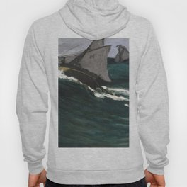 French fine art by Claude Monet Hoody