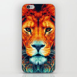 Lion - Colorful Animals iPhone Skin