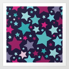 All About the Stars - Style B Art Print