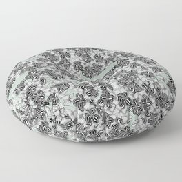 Mint Humbug (Flora) Floor Pillow