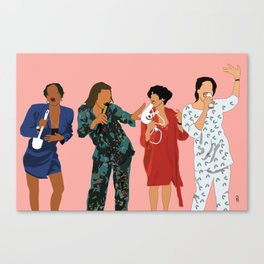 Living Single 90's TV Classic Canvas Print