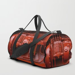 Red Tractor motor Duffle Bag