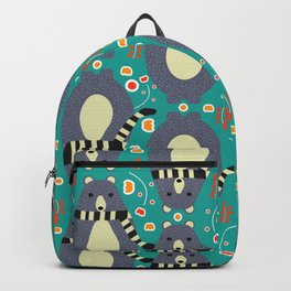Little bears and flowers Backpack